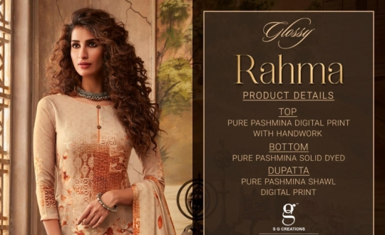 GLOSSY RAHMA PASHMINA DIGITAL PRINTS HANDWORK SUITS COLLECTION WHOLESALE DEALER BEST RATE BY GOSIYA EXPROTS SURAT (20)