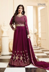 GLOSSY SIMAR 17004 NEW COLORS WHOLESALE RATE AT GOSIYA EXPORTS SURAT WHOLESALE DEALER AND SUPPLAYER SURAT GUJARAT (10)