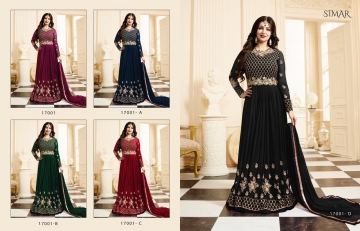 GLOSSY SIMAR 17004 NEW COLORS WHOLESALE RATE AT GOSIYA EXPORTS SURAT WHOLESALE DEALER AND SUPPLAYER SURAT GUJARAT (9)