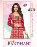 GOLD BANDHANI VOL 1 DRESS T (5)