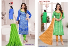 GOLD BANDHANI VOL 1 DRESS T (6)