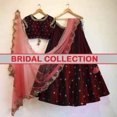 GOSIYA EXPORTS PRESENTS BRIDAL COLLECTION LEHENGA COLLECTION WHOLESALE DEALER BEST RATE SURAT (2)