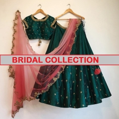 GOSIYA EXPORTS PRESENTS BRIDAL COLLECTION LEHENGA COLLECTION WHOLESALE DEALER BEST RATE SURAT (4)