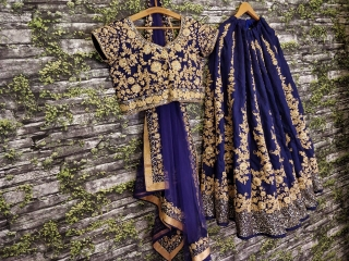 GOSIYA EXPORTS PRESENTS D.NO 7008 WEDDING COLLECTION LEHENGA WHOLESALE SUPPLIER BEST RATE SURAT (2)
