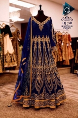 GOSIYA EXPORTS PRESENTS D NO 71 ANARKALI BRIDAL LEHENGA COLLECTION WHOLESALE SUPPLIER BEST (1)