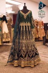 GOSIYA EXPORTS PRESENTS D NO 71 ANARKALI BRIDAL LEHENGA COLLECTION WHOLESALE SUPPLIER BEST (2)