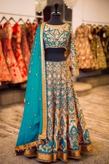 GOSIYA EXPORTS PRESENTS D NO 72 BRIDAL WEDDING LEHENGA COLLECTION WHOLESALE SUPPLIER AT SURAT (1)
