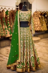 GOSIYA EXPORTS PRESENTS D NO 72 BRIDAL WEDDING LEHENGA COLLECTION WHOLESALE SUPPLIER AT SURAT (4)
