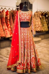 GOSIYA EXPORTS PRESENTS D NO 72 BRIDAL WEDDING LEHENGA COLLECTION WHOLESALE SUPPLIER AT SURAT (5)