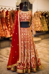 GOSIYA EXPORTS PRESENTS D NO 72 BRIDAL WEDDING LEHENGA COLLECTION WHOLESALE SUPPLIER AT SURAT (7)