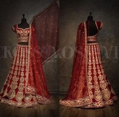 GOSIYA EXPORTS PRESENTS D NO 74 BRIDAL WEAR BOUTIQUE COLLECTION LEHENGA (1)