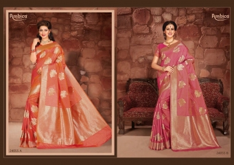 GRACIE BY AMBICA FASHIONS 24051 TO 24059 SERIES INDIAN BEAUTIFUL (4)