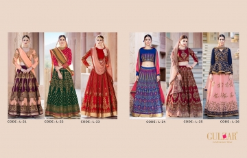 GULZAR BRIDAL LEHENGHA COLLECTION WHOLESALE BEST RATE BY GOSIYA EXPORTS SURAT INDIA (11)