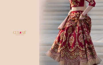 GULZAR BRIDAL LEHENGHA COLLECTION WHOLESALE BEST RATE BY GOSIYA EXPORTS SURAT INDIA (12)