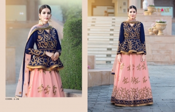 GULZAR BRIDAL LEHENGHA COLLECTION WHOLESALE BEST RATE BY GOSIYA EXPORTS SURAT INDIA (6)