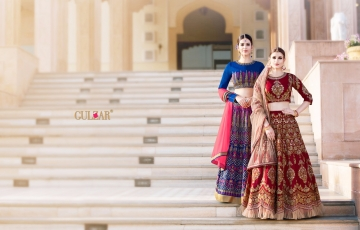 GULZAR BRIDAL LEHENGHA COLLECTION WHOLESALE BEST RATE BY GOSIYA EXPORTS SURAT INDIA (7)