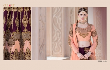 GULZAR BRIDAL LEHENGHA COLLECTION WHOLESALE BEST RATE BY GOSIYA EXPORTS SURAT INDIA (9)