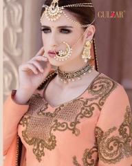 GULZAR BRIDAL LEHENGHA COLLECTION WHOLESALE BEST RATE BY GOSIYA EXPORTS SURAT INDIA)