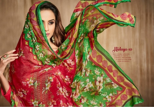 HANSA PRESENT HIDAYA VOL 10 COTTON EMBROIDERY DRESS MATERIALS SUPPLIER WHOLESLAE DEALER BEST RATE BY GOSIYA EXPORTS SURAT (7)