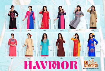 HAVMOR RAYON WORK KURTIS BY RAASHI AVAILABLE WITH US IN WHOLESALE BETS RATE BY GOSIYA EXPORTS SURAT (13)