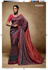 HAWWAH 711-720 SERIES PURE NATURAL FABRICS SAREES CATALOG WHOLESALE SUPPLIER ONLINE BEST RATE BY GOSIYA EXPORTS SURAT (1)