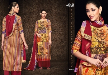 HAYA BY BRIGHT SUMMER SILK COTTON PRINT WHOLESALE SURAT GOSIYA EXPORTS (10)