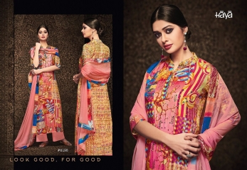 HAYA BY BRIGHT SUMMER SILK COTTON PRINT WHOLESALE SURAT GOSIYA EXPORTS (5)