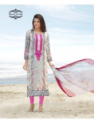 HAYAT TRENDZ MAYRA LAWN COTTON SUITS WHOLESALER DEALER BEST RATE BY GOSIYA EXPORTS SURAT