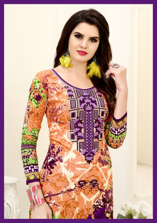 HEENA KARACHI QUEEN KARACHI COTTON PRINTED UNSTITCHED DRESS MATERIALS CATALOG WHOLESALE DEALER BEST RATE BY GOSIYA EXPROTS SURAT (20)