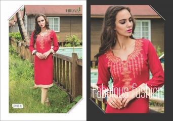 HIRWA CRAYONS PURE RAYON EMBROIDERED KURTIS WHOLESALE DEALER BEST RATE BY GOSIYA EXPORTS SURAT (1) - Copy
