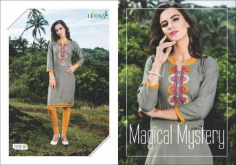 HIRWA CRAYONS PURE RAYON EMBROIDERED KURTIS WHOLESALE DEALER BEST RATE BY GOSIYA EXPORTS SURAT (6)