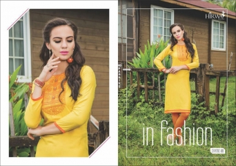 HIRWA CRAYONS PURE RAYON EMBROIDERED KURTIS WHOLESALE DEALER BEST RATE BY GOSIYA EXPORTS SURAT (8)