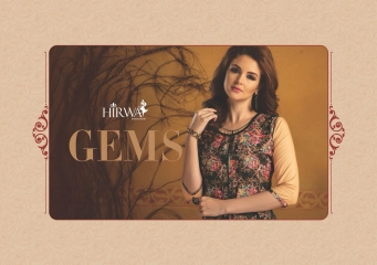 HIRWA GEMS PURE RAYON WITH CREAP JACKET KURTI WHOLESALE BEST RATE BY GOSIYA EXPORTS SURAT (14)