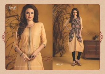 HIRWA GEMS PURE RAYON WITH CREAP JACKET KURTI WHOLESALE BEST RATE BY GOSIYA EXPORTS SURAT (17)