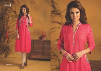HIRWA GEMS PURE RAYON WITH CREAP JACKET KURTI WHOLESALE BEST RATE BY GOSIYA EXPORTS SURAT (18)