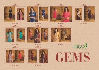HIRWA GEMS PURE RAYON WITH CREAP JACKET KURTI WHOLESALE BEST RATE BY GOSIYA EXPORTS SURAT (19)
