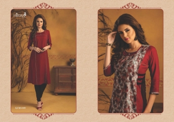 HIRWA GEMS PURE RAYON WITH CREAP JACKET KURTI WHOLESALE BEST RATE BY GOSIYA EXPORTS SURAT (20)