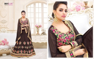 HOTLADY SHEMAYA GEORGETTE DESIGNER SUITS WHOLESALER BEST RATE BY GOSIYA EXPORTS SURAT (1)