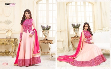 HOTLADY SHEMAYA GEORGETTE DESIGNER SUITS WHOLESALER BEST RATE BY GOSIYA EXPORTS SURAT (2)
