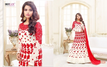 HOTLADY SHEMAYA GEORGETTE DESIGNER SUITS WHOLESALER BEST RATE BY GOSIYA EXPORTS SURAT (5)