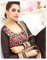 HOTLADY SHEMAYA GEORGETTE DESIGNER SUITS WHOLESALER BEST RATE BY GOSIYA EXPORTS SURAT