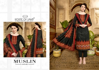 HOUSE OF LAWN MUSLIN 4 JAM SILK COLLECTION (6)