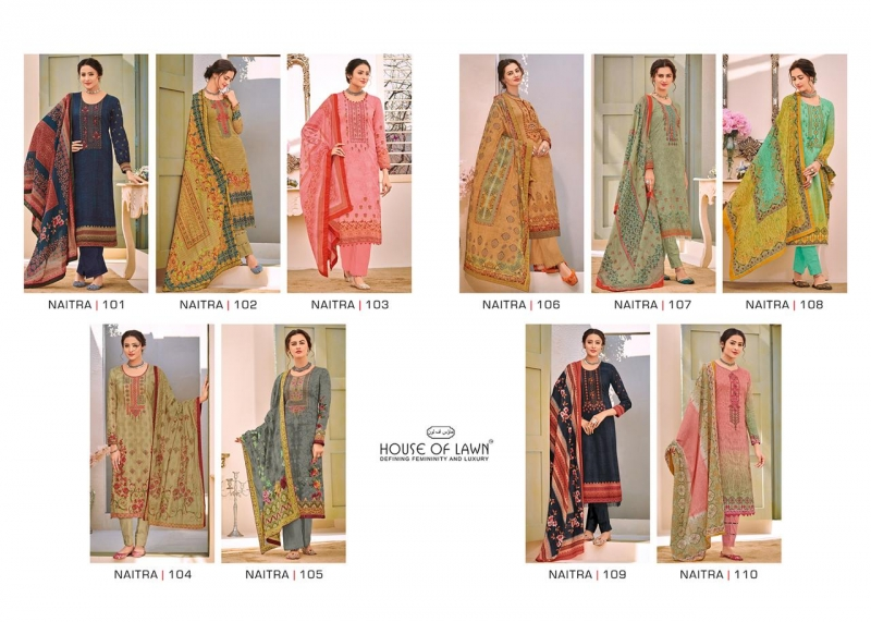 f4c4264360 Gosiya Exports » HOUSE OF LAWN NAITRA JAM SATIN FABRIC KARACHI SUITS ...