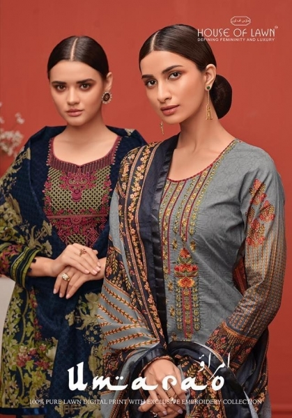 HOUSE OF LAWN PRESENTS UMARAO JAM SATIN FABRIC DRESS MATERIAL AT WHOLESALE BEST RATE BY GOSIYA EXPORTS SURAT (1)