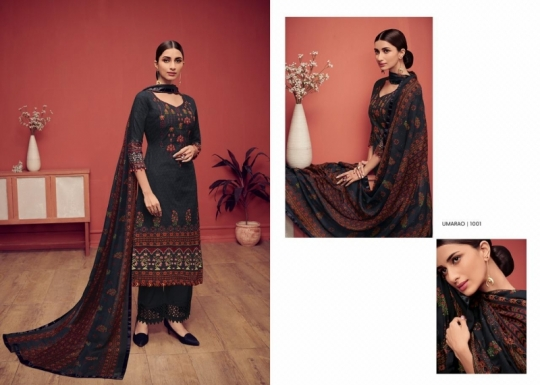 HOUSE OF LAWN PRESENTS UMARAO JAM SATIN FABRIC DRESS MATERIAL AT WHOLESALE BEST RATE BY GOSIYA EXPORTS SURAT (10)
