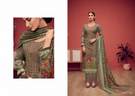 HOUSE OF LAWN PRESENTS UMARAO JAM SATIN FABRIC DRESS MATERIAL AT WHOLESALE BEST RATE BY GOSIYA EXPORTS SURAT (11)