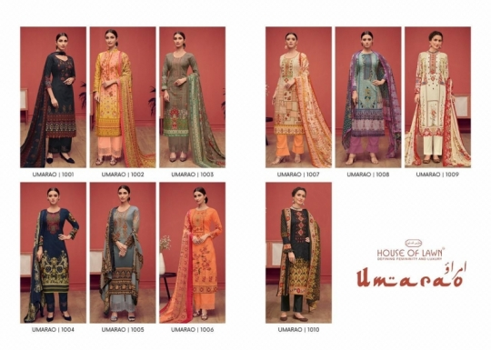 HOUSE OF LAWN PRESENTS UMARAO JAM SATIN FABRIC DRESS MATERIAL AT WHOLESALE BEST RATE BY GOSIYA EXPORTS SURAT (14)