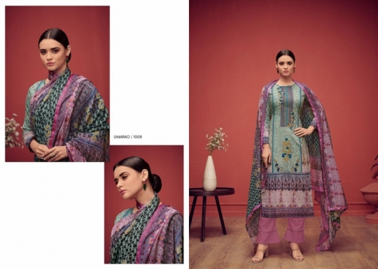 HOUSE OF LAWN PRESENTS UMARAO JAM SATIN FABRIC DRESS MATERIAL AT WHOLESALE BEST RATE BY GOSIYA EXPORTS SURAT (3)