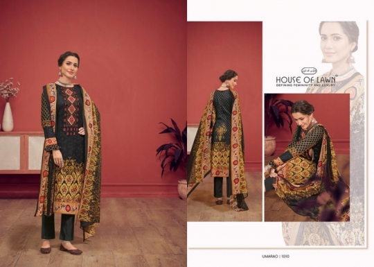 HOUSE OF LAWN PRESENTS UMARAO JAM SATIN FABRIC DRESS MATERIAL AT WHOLESALE BEST RATE BY GOSIYA EXPORTS SURAT (4)