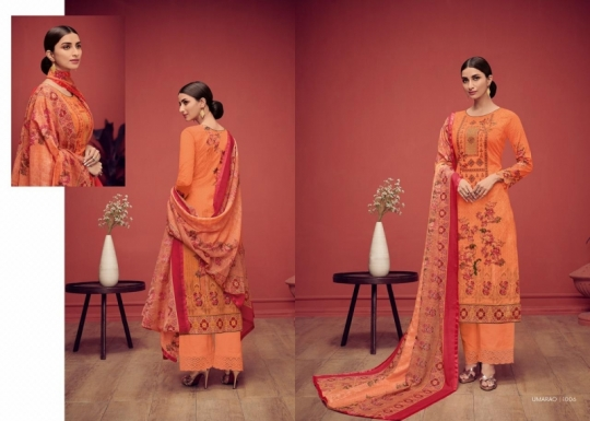 HOUSE OF LAWN PRESENTS UMARAO JAM SATIN FABRIC DRESS MATERIAL AT WHOLESALE BEST RATE BY GOSIYA EXPORTS SURAT (5)